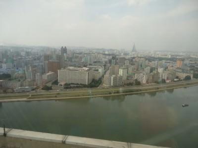 pyongyang revolving restaurant top floor