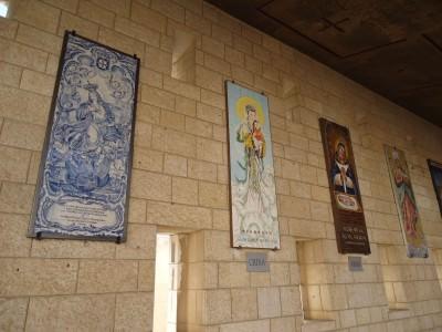 mosaics in Israel nazareth