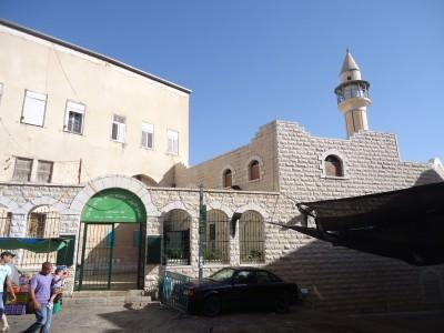 white mosque nazareth israel