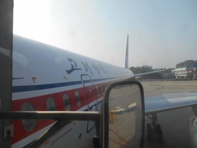 air koryo flight pyongyang plane
