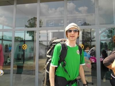 jonny blair pyongyang airport