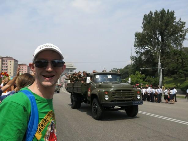 army parade pyongyang