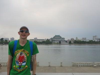 river view taedong pyongyang