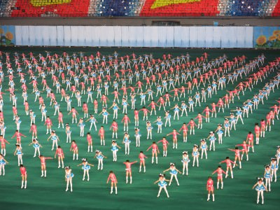 pyongyang mass games