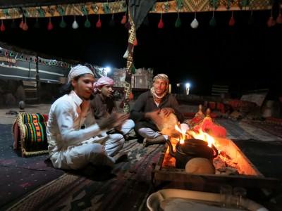 wadi rum camping memories