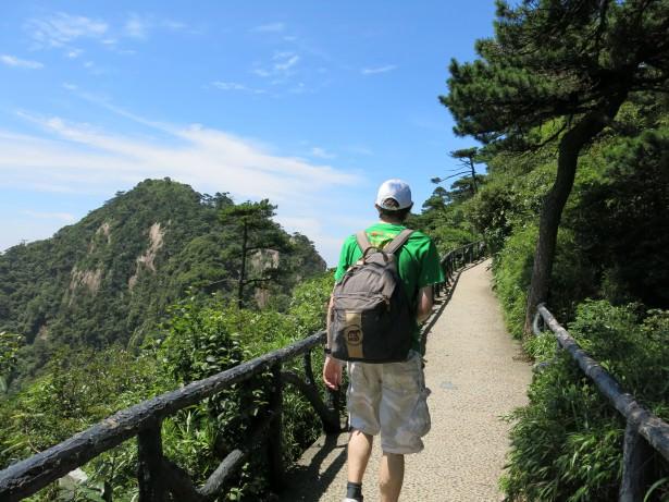 jiangxi province china backpacking