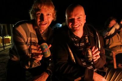 camping in serengeti