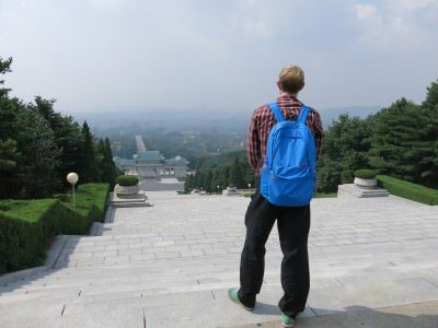 view of pyongyang revolutionary martyrs cemetery