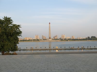 north korea juche tower