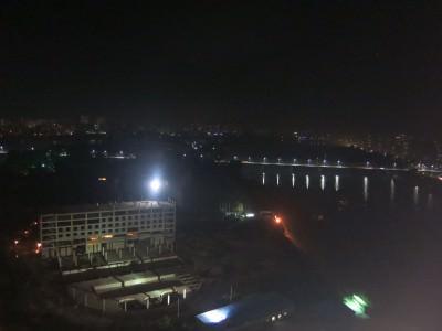 night time pyongyang view