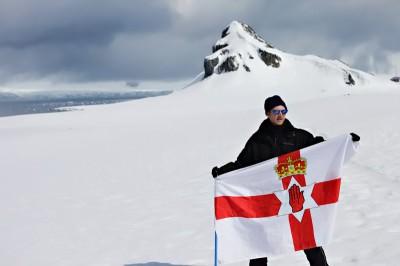 jonny blair in antarctica