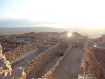 masada from the top
