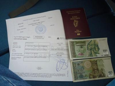 azerbaijan visa in batumi