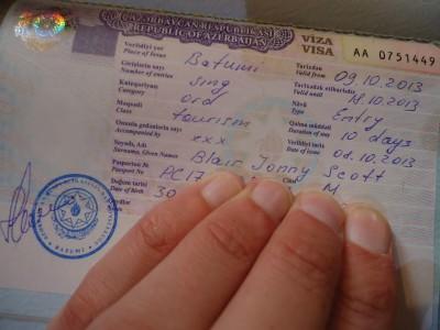batumi getting azerbaijan visa