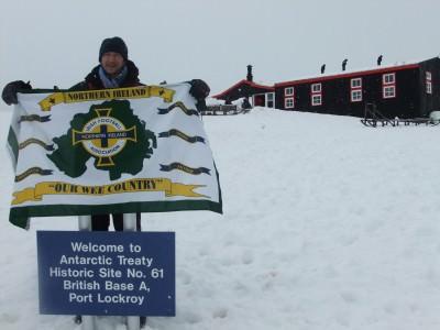bbc northern ireland jonny blair antarctica