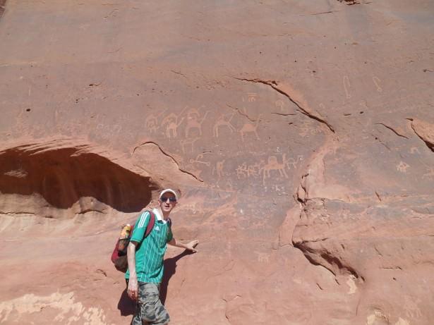 camel inscriptions rum stars tour wadi rum