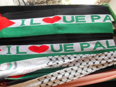 Palestine football scarves