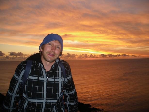 sunset at casapueblo