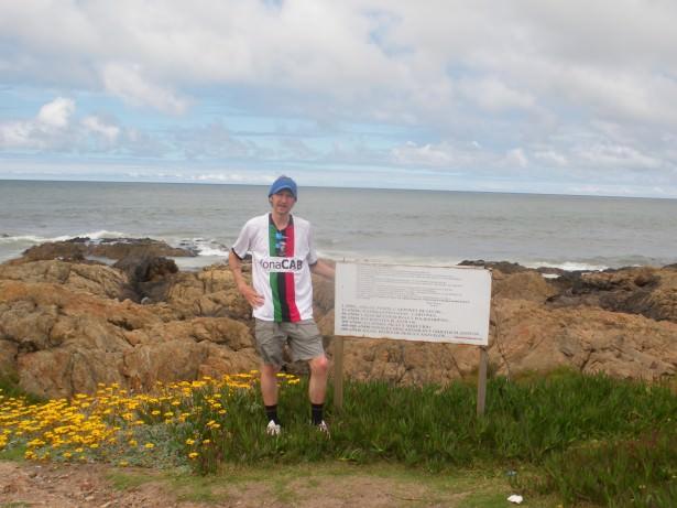 mainland uruguay south tip