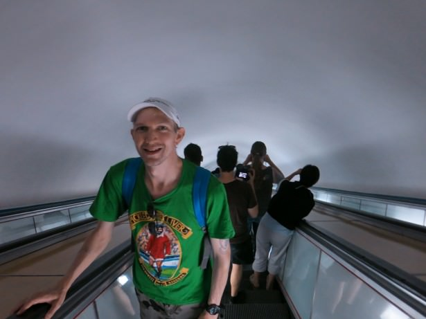 revival escalator pyongyang