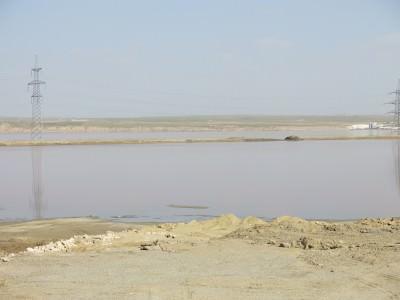 lake masazir pink lake