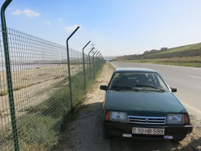 car to lake masazir