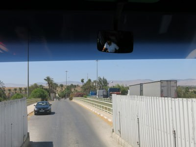 sheik hussein bridge border