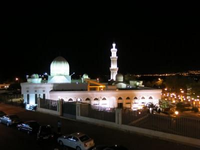 night view aqaba jordan
