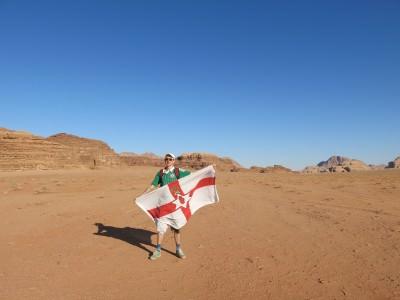 bangor northern ireland flag jordan wadi rum