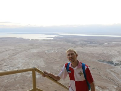 masada israel hiking