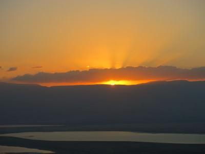 masada sunrise tour