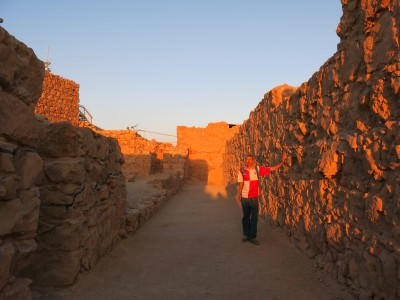 masada sunrise hike