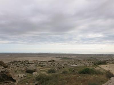 qobustan countryside views.