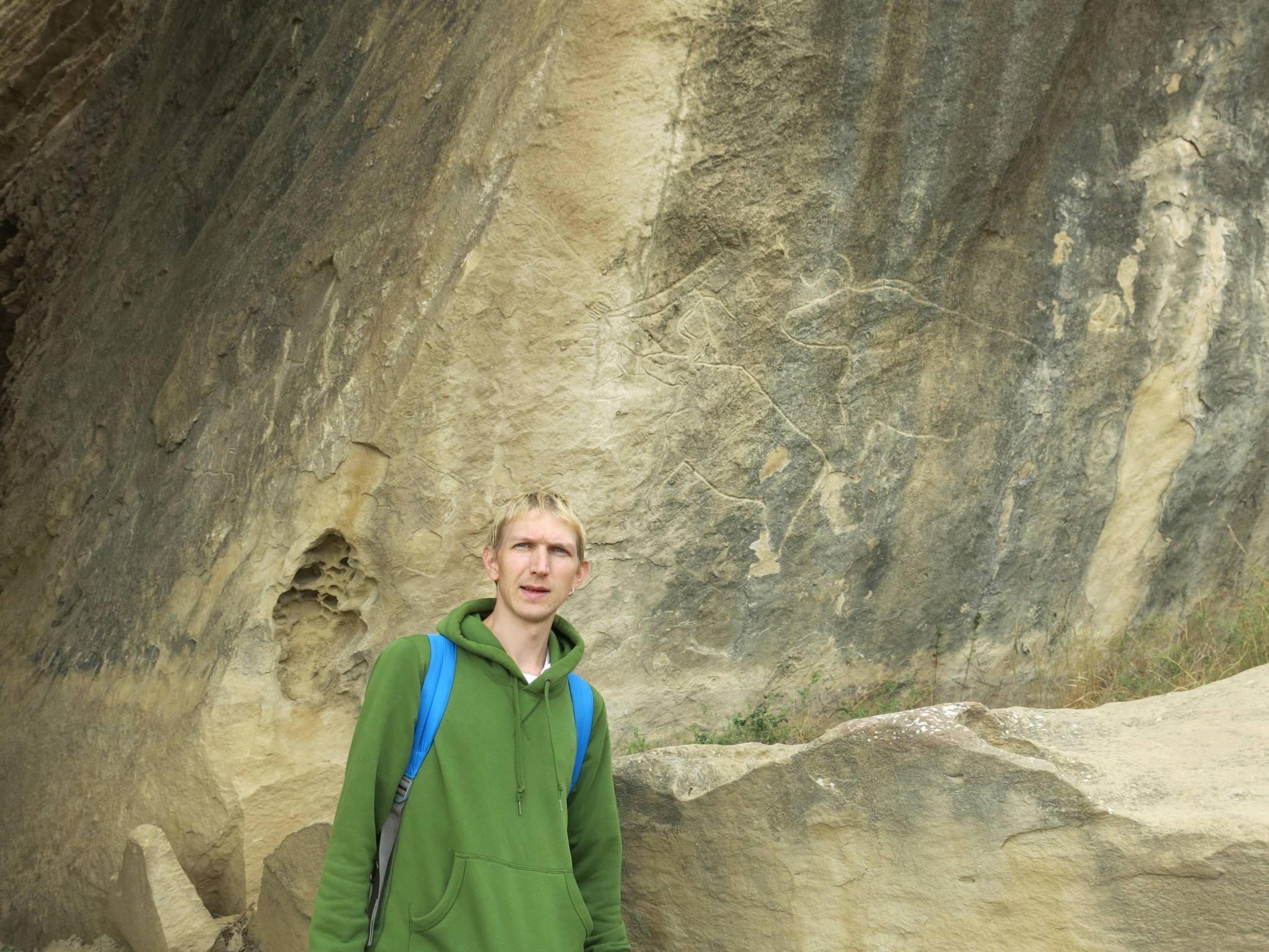 qobustan rock formations