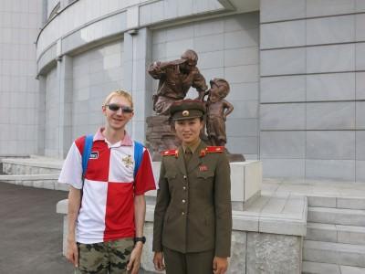 north korean soldier jonny blair