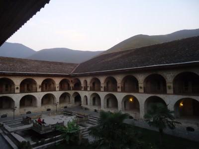 karavansaray hotel seki azerbaijan