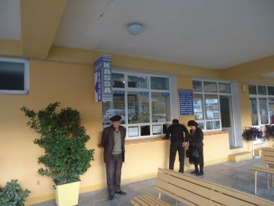 bus station seki azerbaijan