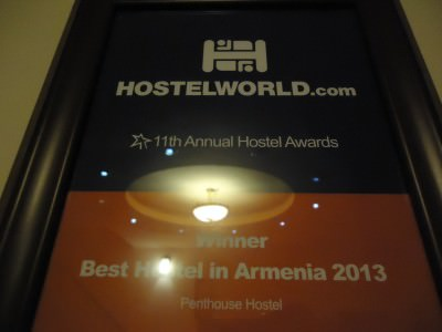 penthouse hostel in yerevan