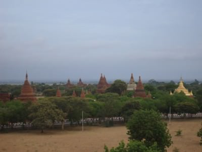 bagan scattered temples