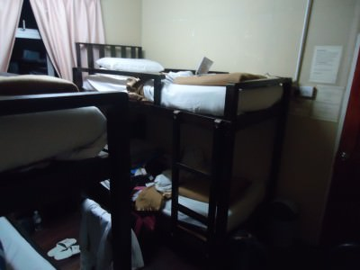 waras hut dorm bedroom mount kinabalu