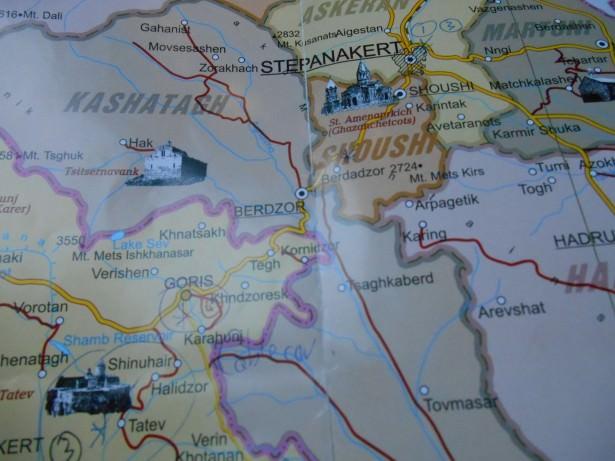 armenia to nagorno karabakh