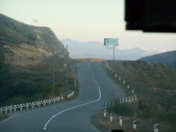 armenia nagorno karabakh border road