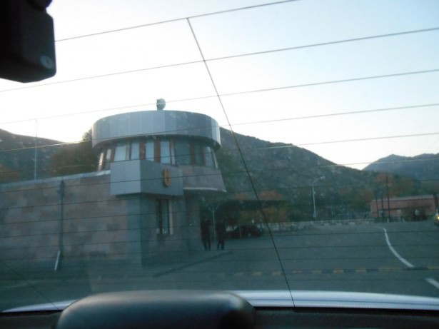 nagorno karabakh border