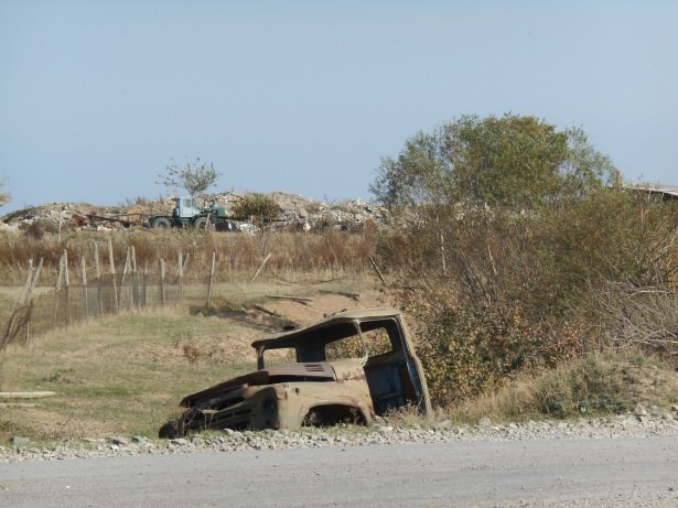 The Front Line: My Halloween Visit to the Destroyed City of Agdam, Nagorno Karabakh
