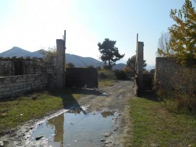 Gates in Agdam, Nagorno Karabakh