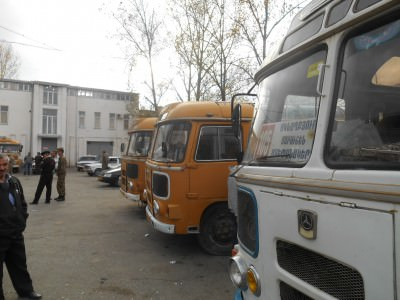 bus station artsakh