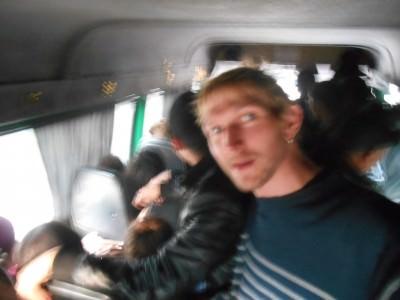 jonny blair crazy minibus