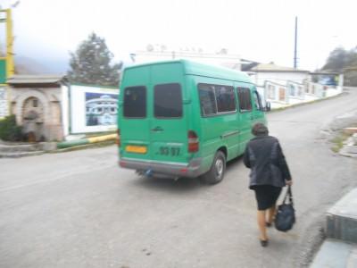 mini bus in vank