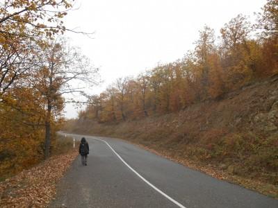 road to gandzasar nagorno karabakh