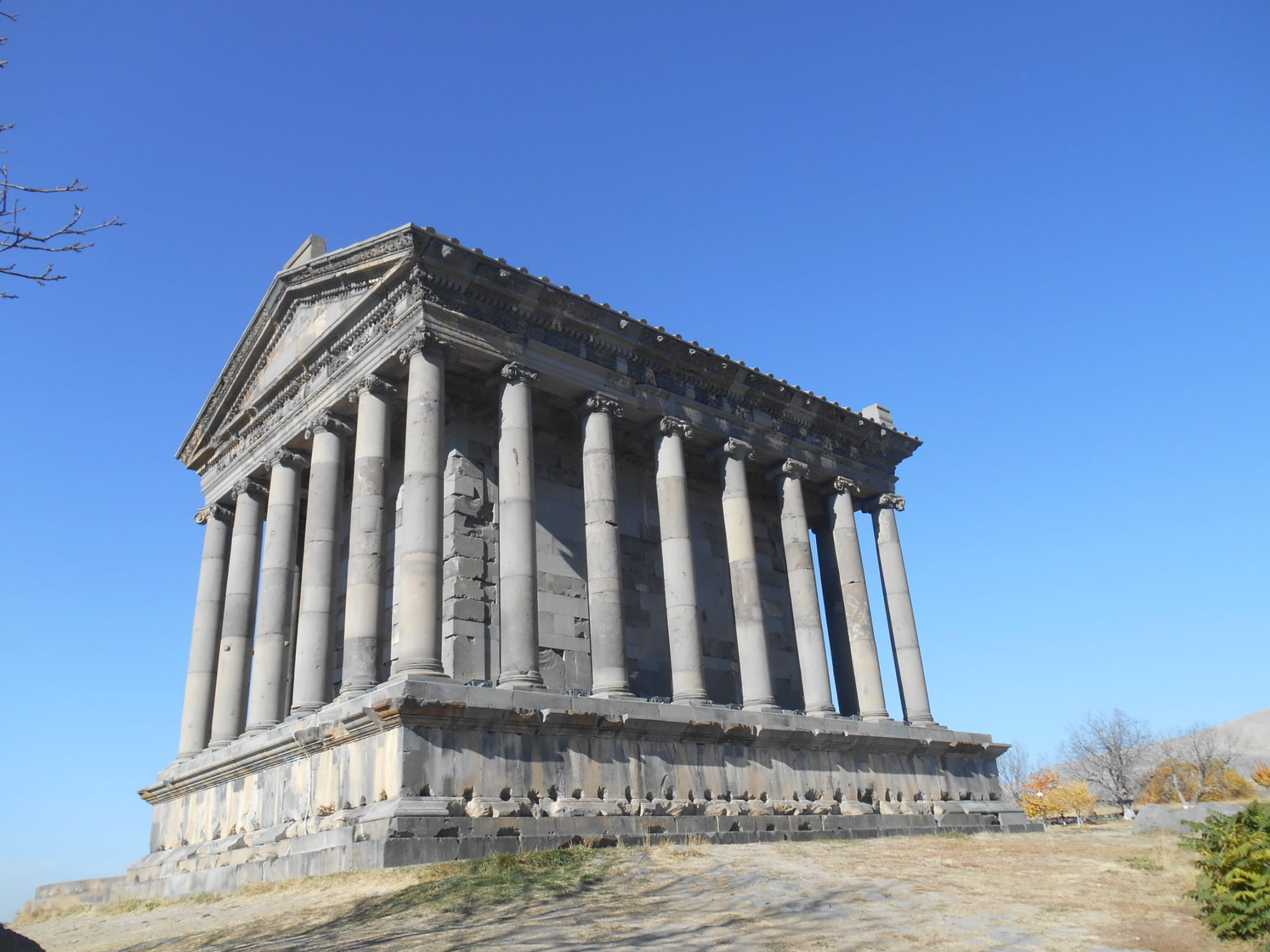 garni greek temple armenia